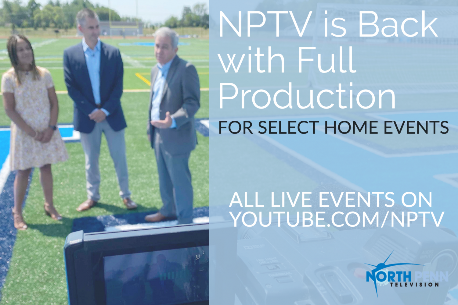 NPTV is Back Graphic